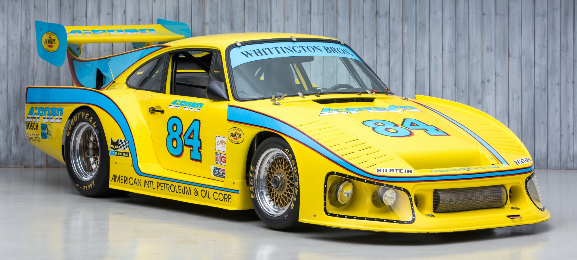 The Multiple Le Mans 24 Hours, Daytona 24 Hours and Sebring 12 Hours 1976 Porsche 934 Turbo RSR to 934 M16/K3