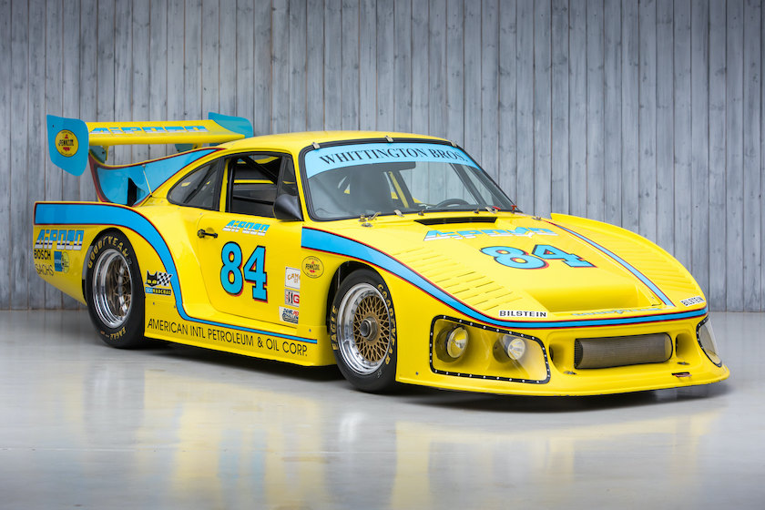 The 2x Le Mans 24 Hours, 3x Daytona 24 Hours, 3x Sebring 12 Hours, Driven by Don Whittington to clinch the 1979 Drivers' World Endurance Championship Title 1976 Porsche 934 Turbo RSR to 935 M16 K3 For Sale at William I'Anson Ltd
