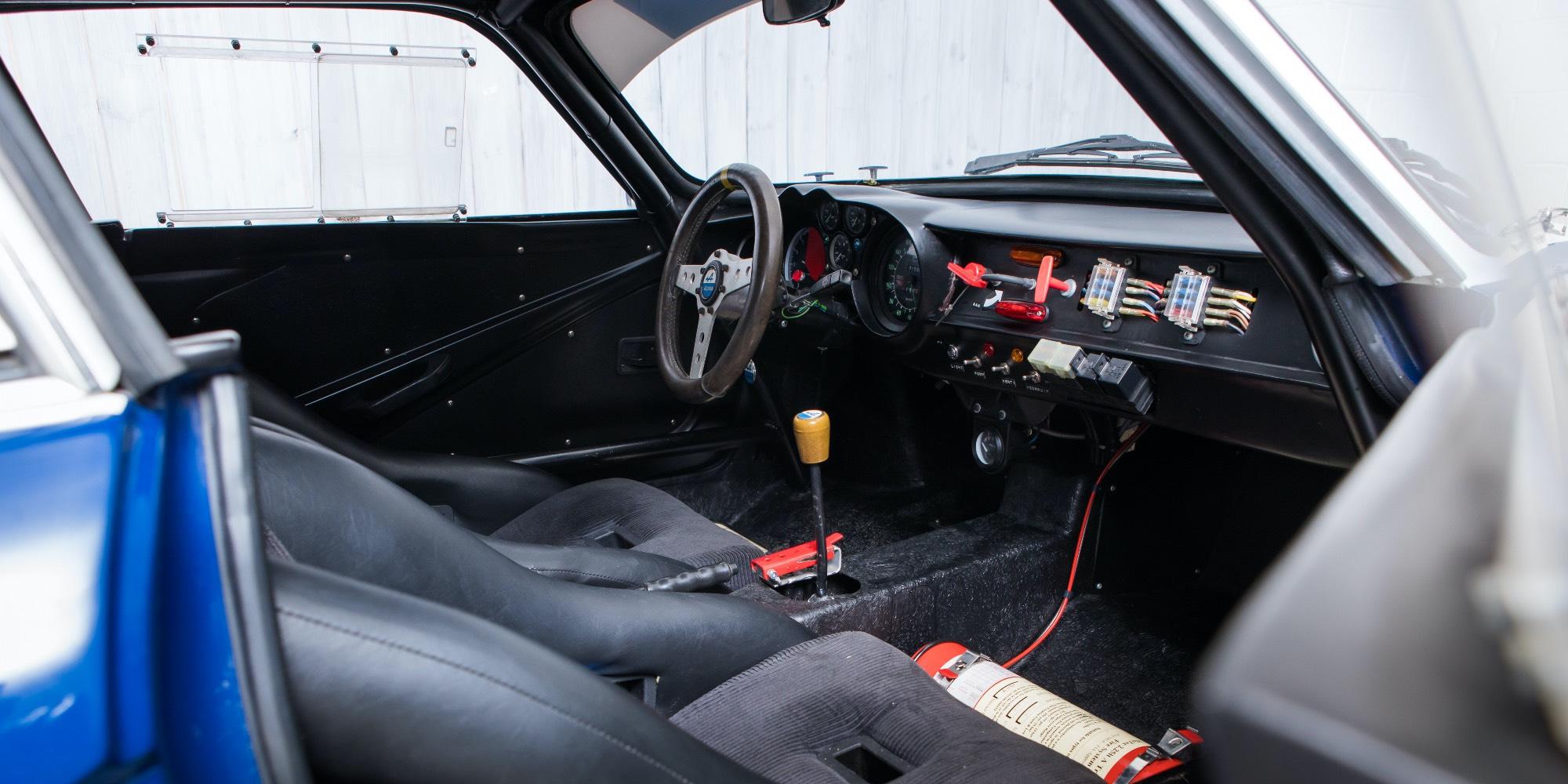 The Ex – Team VIALLE Autogas, Dutch Rallycross Champion 1974 Renault Alpine A110 B – Gordini 1800 16-Valve