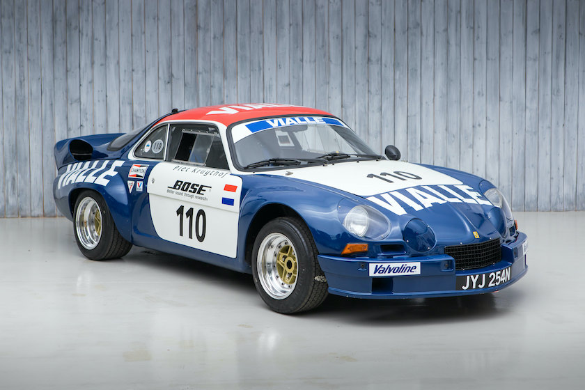 The Ex - Team VIALLE Autogas, Dutch Rallycross Champion 1974 Renault Alpine A110 B - Gordini 1800 16 Valve For Sale at William I'Anson Ltd