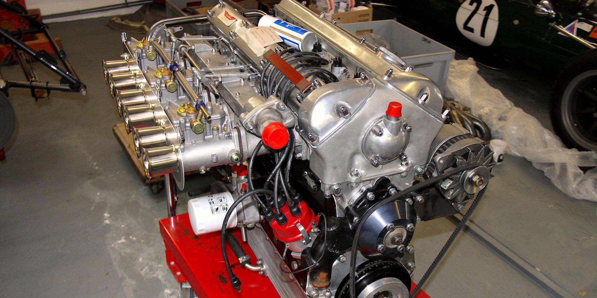 Jaguar E-Type FIA 3.8 Engine