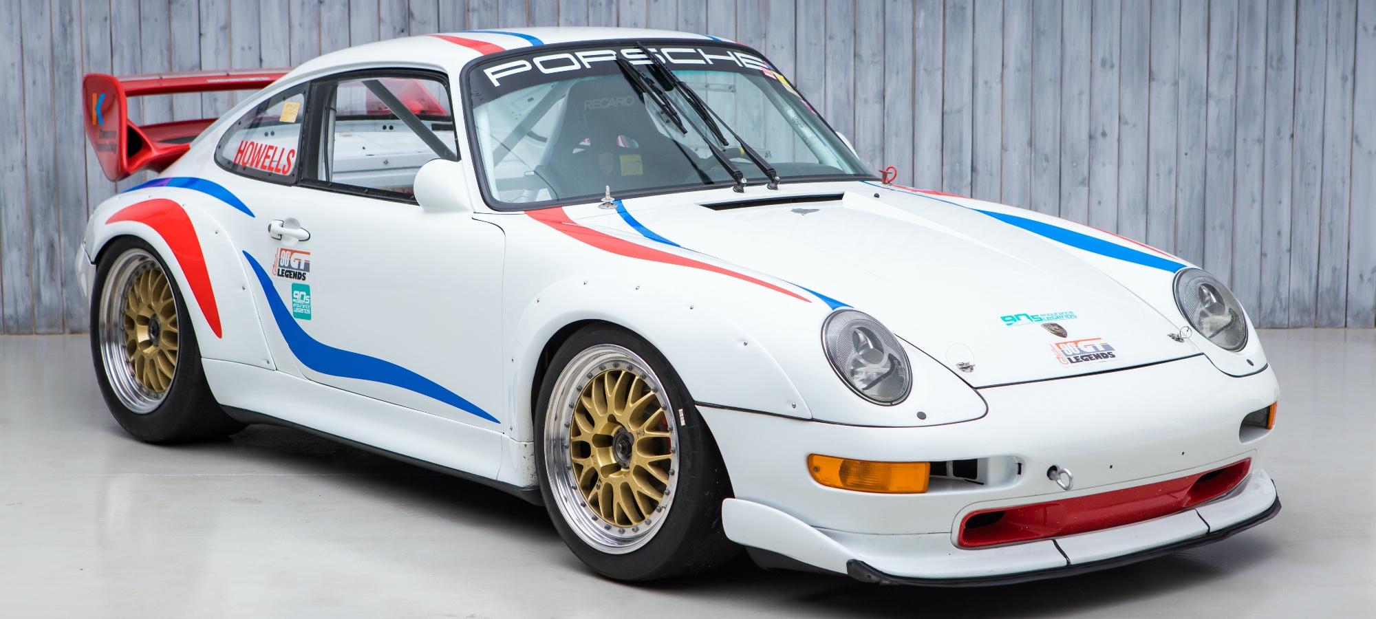 The Ex - Porsche Motorsport Asia, Championship Winning 1997 Porsche 993 Cup 3.8 RSR
