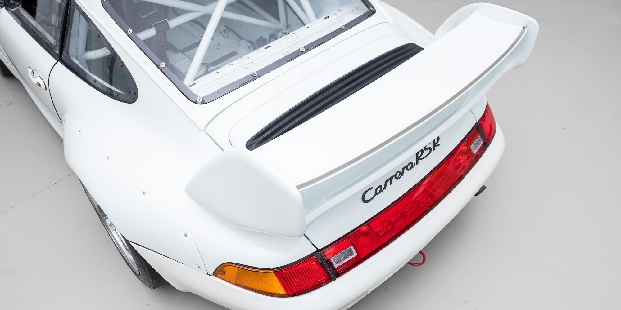 The Ex – Porsche Motorsport Asia, Championship Winning 1997 Porsche 993 Cup 3.8 RSR