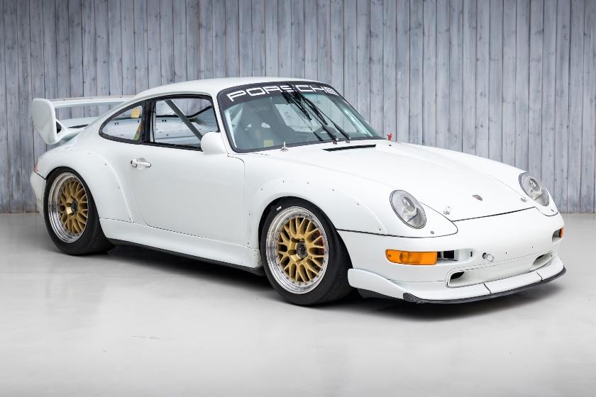 The Ex-Porsche Motorsport Asia, Championship Winning 1997 Porsche 993 Cup 3.8 RSR For Sale at William I'Anson Ltd