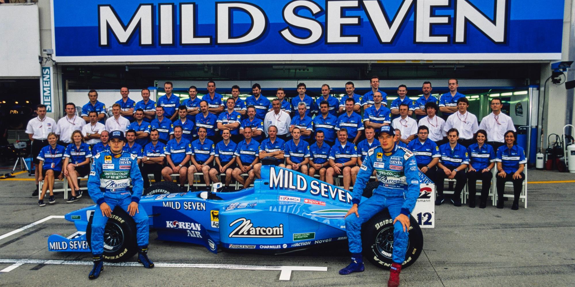 The Ex – Giancarlo Fisichella 2000 Benetton B200 Formula 1