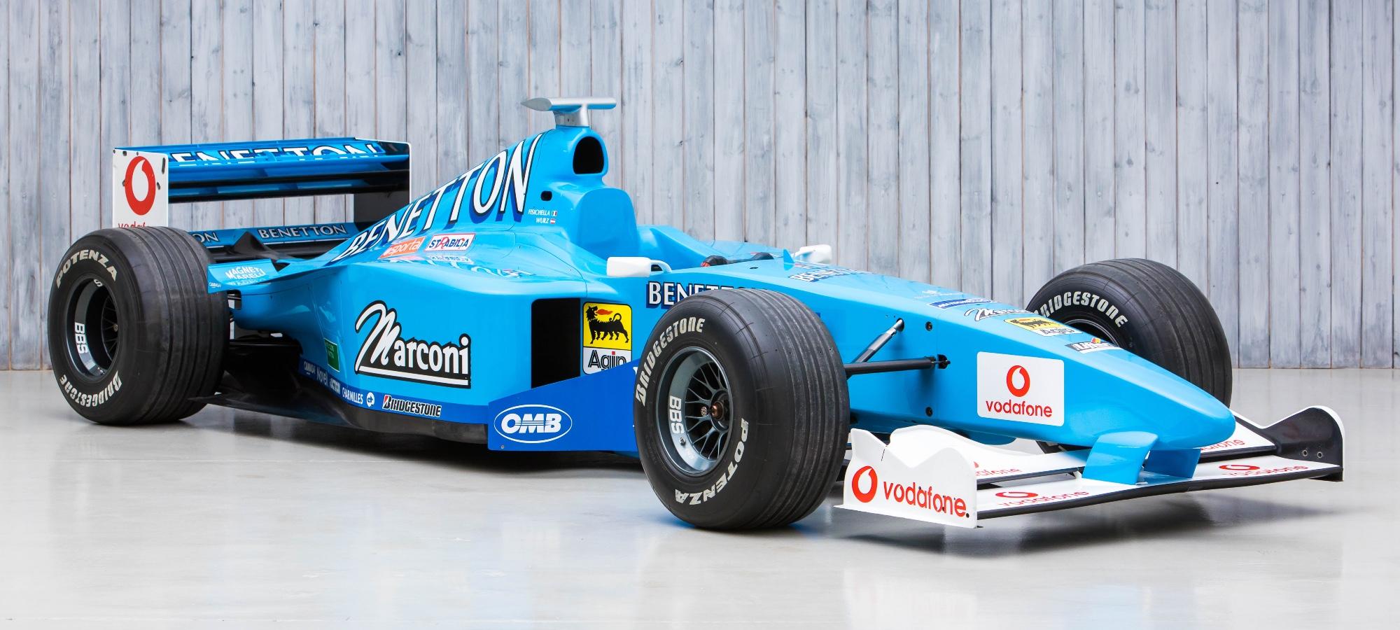 The Ex - Giancarlo Fisichella 2000 Benetton B200 Formula 1