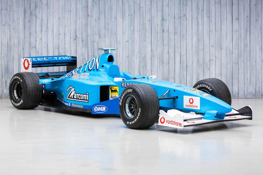 The Ex - Giancarlo Fisichella 2000 Benetton B200 Formula 1 For Sale at William I'Anson Ltd
