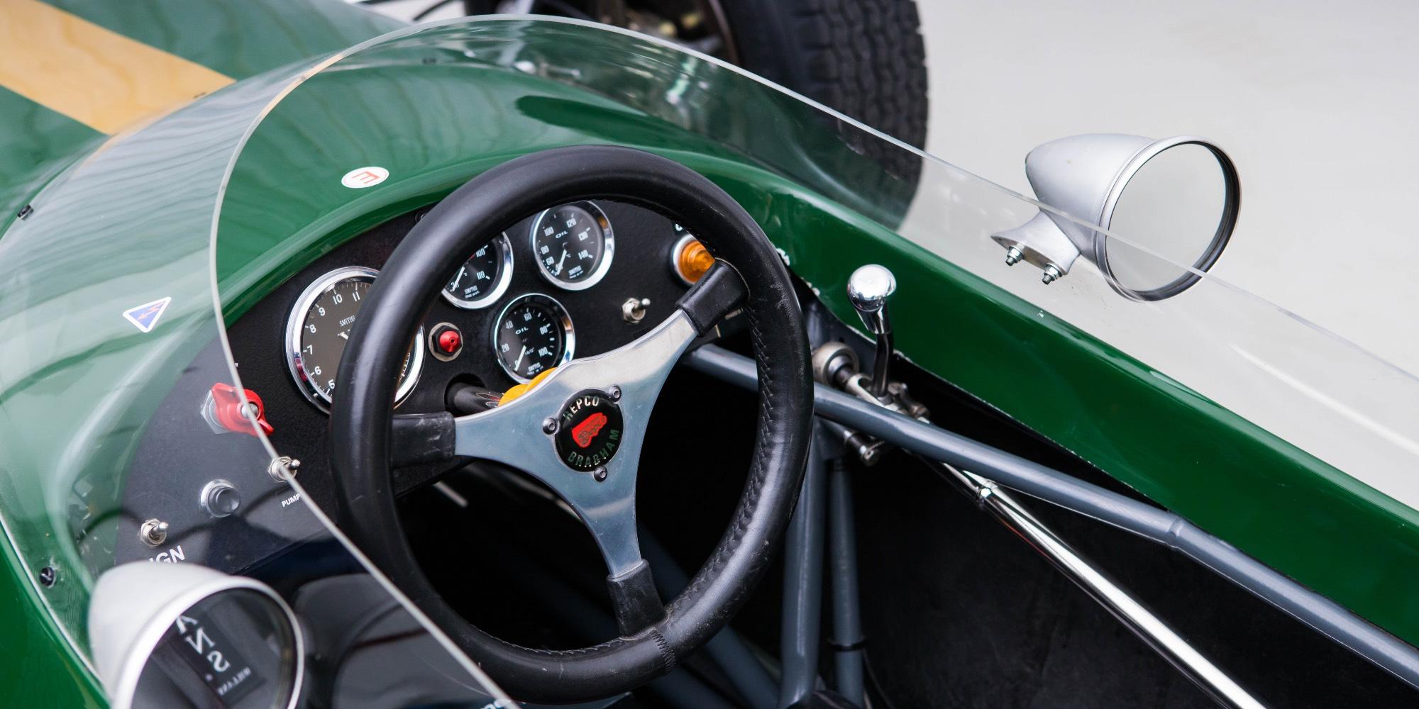 The Ex – Dennis O'Sullivan 1964 Brabham BT10 – Cosworth Formula 2